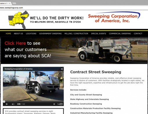 sweepingcorp.com